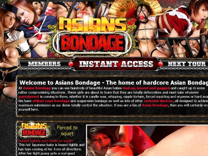 Bondage butt machines